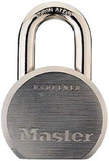 Master Lock Padlock, Solid Steel Lock, 2-1/2 in. Wide, 930DPF