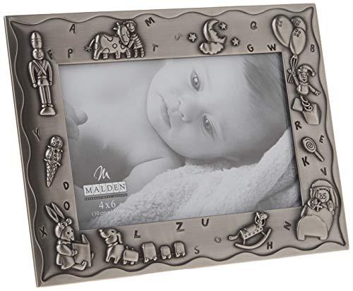 Malden International Designs Sweet Dreams Baby Metal Picture Frame, 4x6,