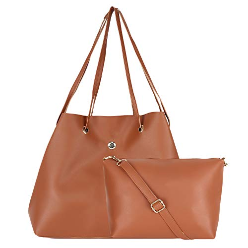don cavalli Women's PU Leather Handbag (Tan)