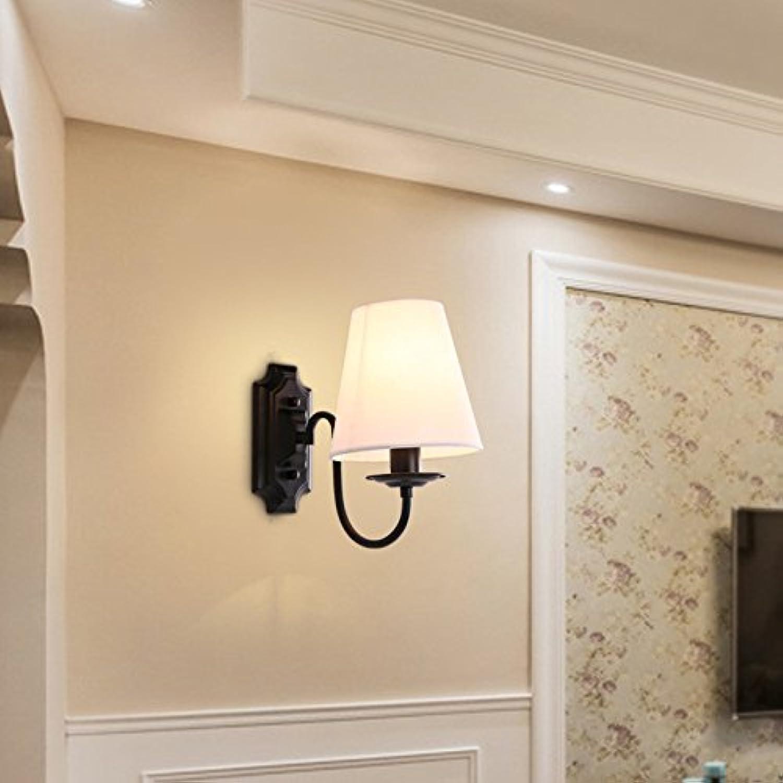 Wandleuchten Wandspots Wandlampe für Wohnzimmer, Schlafzimmer,Büro, Restaurants, Hotels,Nordische moderne einfache europische Art dekorative Treppe LED-Lampen Nacht Kopf, Einzelkopf, 200  230mm