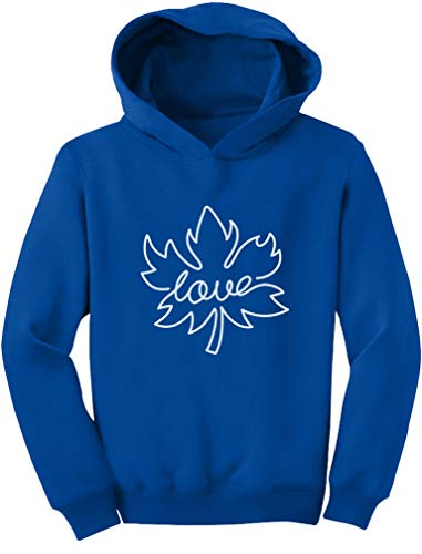 Canadian Maple Leaf Canada Day Cute Toddler Hoodie 2T Blue
