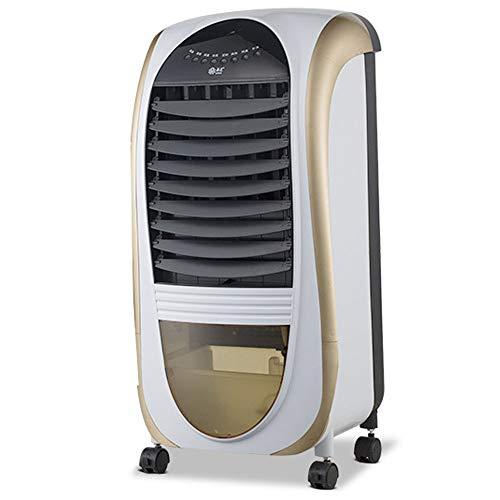 Mobile Klimaanlage Klimagerät Ventilator Klimaanlage 9L Tank Timer 3 Stufen Ionisator Luftbefeuchter Luftkühler,Gold