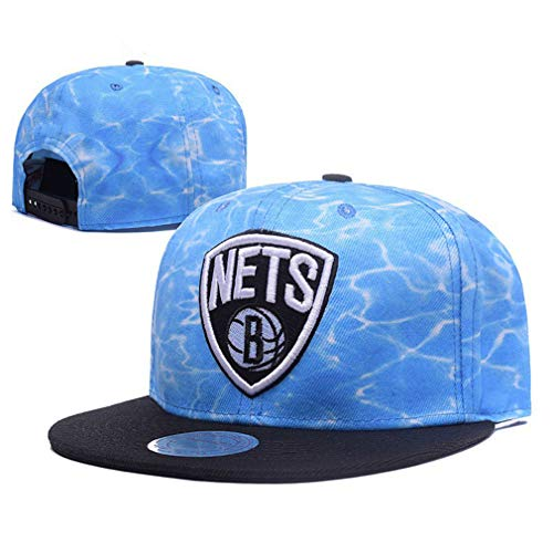 Hanbei Baseballmütze Brooklyn Nets Sport Hut Einstellbare Kappe Mütze Unisex Flat Brim Baseball Camouflage Cap
