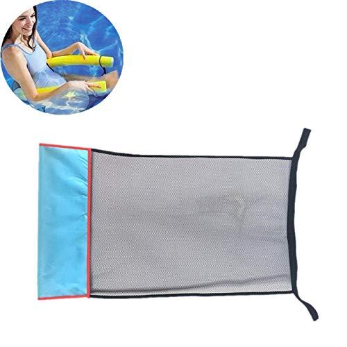 huichang Schwimmnudel 150x6.5 cm – Pool Nudel Schwimm-Noodle – zum Schwimmen Planschen (Wassersitz Netz für Pooln(Poolnudel Nicht enthalten))