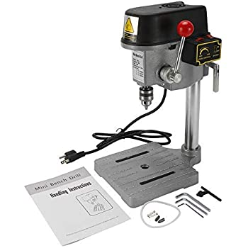 HYDDNice 3 Speed Mini Drill Press Bench Small Benchtop Drill Press Mini Portable Drill Press