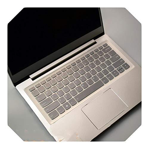 Custodia protettiva in silicone per tastiera Lenovo 530 530s 530-14IKB 730 730S 530 IdeaPad 330s 530s Miix 630 2018 Taglia unica Trasparente