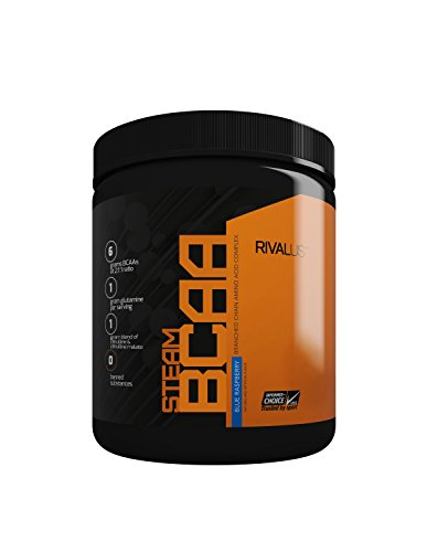 Rivalus Steam Bcaa Intra-Workout - 30 Servings - Blue Raspberry, 309 g