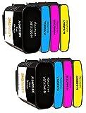 Amaprint 8 XL Cartouches Compatible avec HP 940 940 pour HP Officejet Pro 8000 8500 8500A A909A A910A