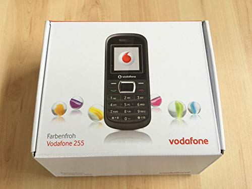 Vodafone 255 CallYa Prepaid Handy in schwarz mit SIM Karte Call Ya