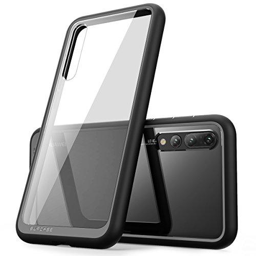 SupCase Huawei P20 Pro Hülle Premium Handyhülle Hybrid Case Transparent Schutzhülle Backcover [Unicorn Beetle Style] für Huawei P20 Pro 2018 (6.1 Zoll) (Schwarz)