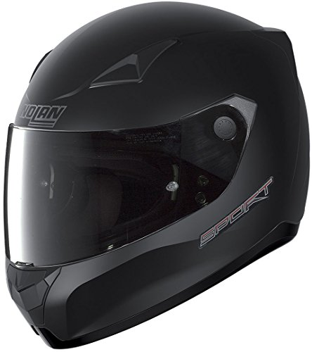 Nolan Unisex-Adult N60-5 Sport Flat Black L Helmet, L