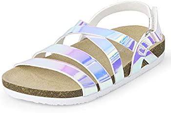 The Childrens Place Unisex-Child Strappy Sandals Slipper