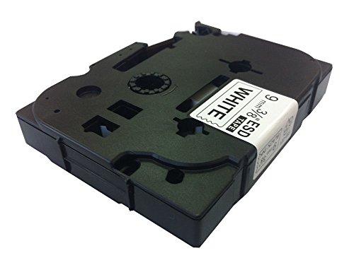 ACENIX Universal Reparaturset kompatibel Etikettenband Ersatz für Brother TZ221[9mm x 8m] (1schwarz auf weiß) tz-221