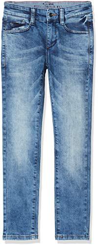 s.Oliver Junior Jungen 75.899.71.1008 Jeans, Blau (Mid.Blue Heavy STO 56z6), 146 (Herstellergröße: 146/REG)