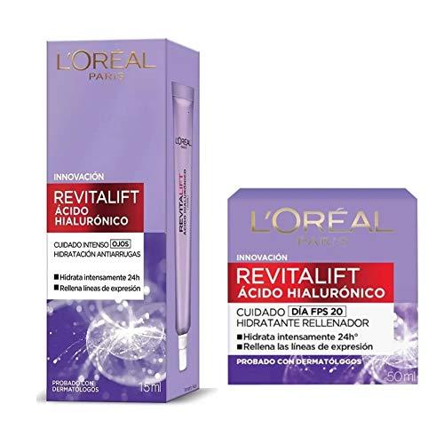loreal revitalift ojos acido hialuronico fabricante Loreal