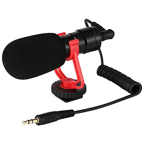 Moukey MCm-1 Micrófono Universal para Videocámaras/Cámara Canon...