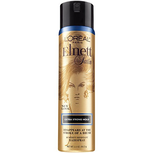 L'Oreal Paris Elnett Satin Hairspray Extra Strong Hold Travel Size 2.2 Ounce (1 Count) (Packaging May Vary)