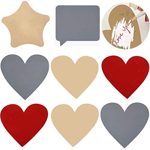 50 Stück Rubbelsticker Etiketten, Rubbel Etiketten, für Einklebebuchbuch, Postkarte Überraschung Rubbellose und DIY Hochzeitsspiele (5 Stil)
