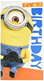 Despicable Me Minion ITS Your Birthday Aufkleber Karte