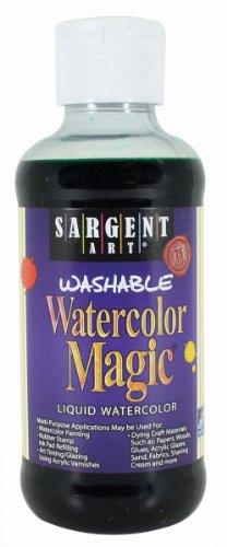 Sargent Art 22-6066 8-Ounce Watercolor Magic, Green