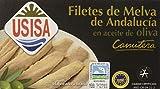 Usisa, Filetes de Melva de Andalucia 'Canutera' - 5 latas