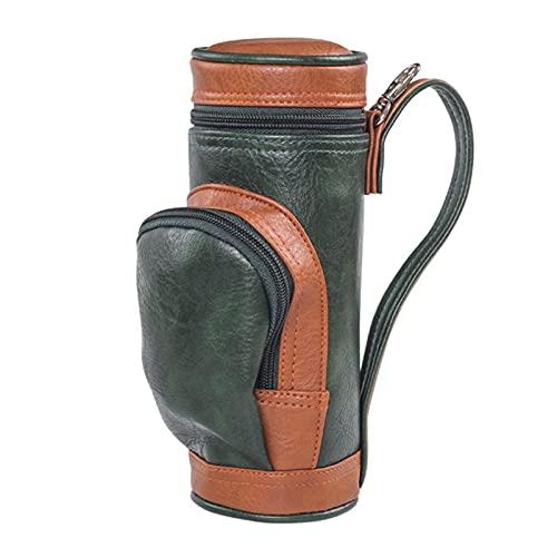 Marekyhm-es 1 Paquete Bolsa de Golf Caja de Cigarrillos con Bolsa Clip Humidificador Viaje portátil Cigarette Accesorios de Almacenamiento (Color : Green)