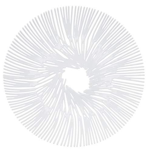 Koziol Anémone Coque, Plastique, 32.8 x 32.8 x 4 cm, Plastique, weiß, 32.8 x 32.8 x 4 cm