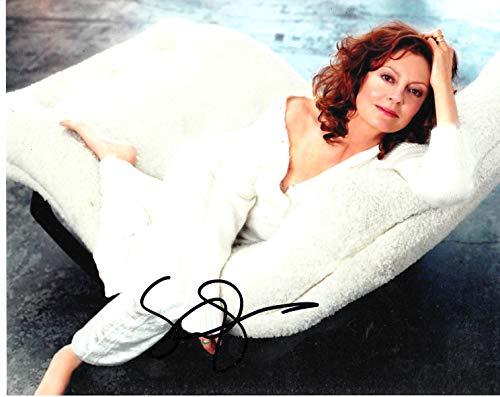Firma de sueños autógrafos Susan Sarandon firmada 10 x 8 Foto – Brujas de Eastwick – Bull Durham – distribuidor 100% en persona – Registrado #242