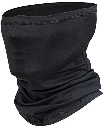 dfen Neck Gaiter Half Face Mask Cover Scarf Sun UV Protection Cooling Breathable Bandana Men Women Reusable