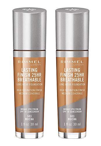 Rimmel lasting finish extreme lipstick, Mocha, 2 Count