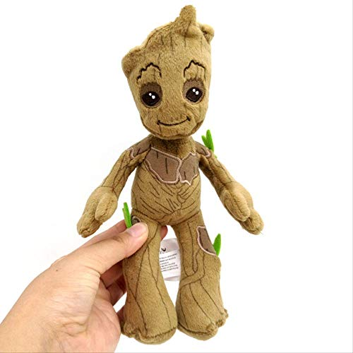 qwerbz 8.7in Peluche, Origina Guardians 'of The Galaxy Mini Baby Figura De Acción Groot Peluches Little Tree Man Doll