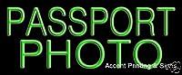 パスポートフォト手作り本物Glasstube Neon Sign