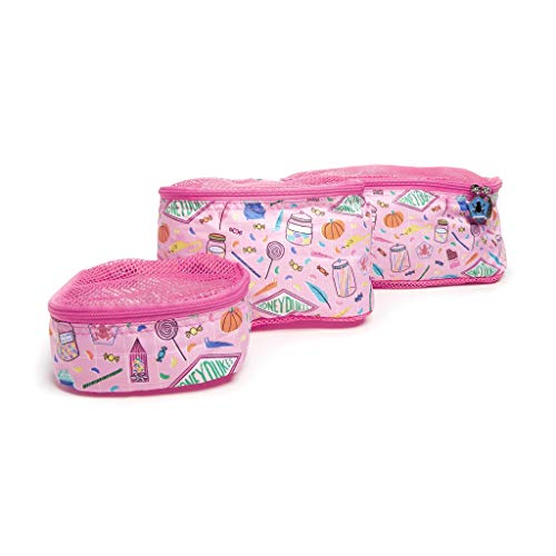 JuJuBe x Harry Potter | Be Organized | Compact Packing Cubes for Use with JuJuBe Totes, Diaper Bags + Backpacks | Travel Sized Pouches | Honeydukes | 3 Pack