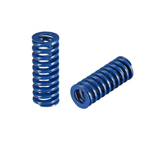 Pilang Zxxin-Molla, Pressione Spring, 5pcs, Parte della Stampante 3D Lunghezza importata 23mm od 8mm ID 4mm for CR-10 Ender-3 Hotbed, Accessori industriali (Length : Blue 8 X 25 mm)