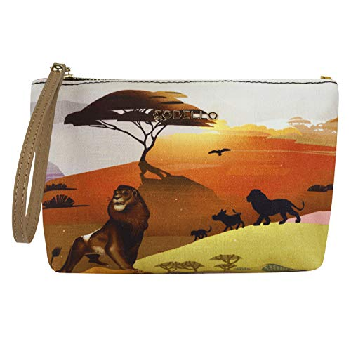 CODELLO Damen Disney König der Löwen-Beauty Bag aus Canvas