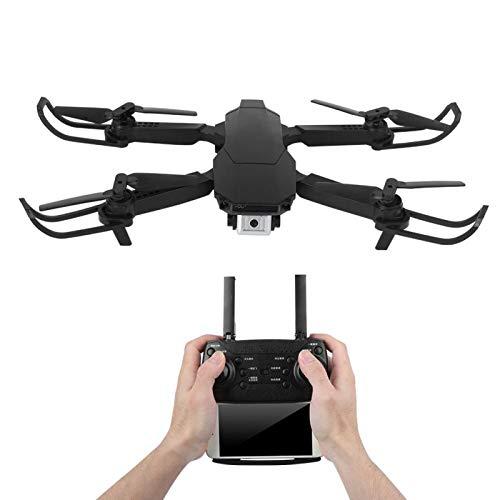 DAUERHAFT con Drone aéreo Plegable de Alta definición con Control Remoto para niños Juguete para niños Reduce el estrés por presión(Black, 4k)