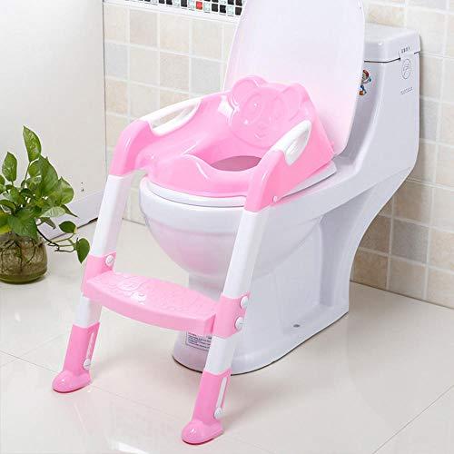 Siège de formation de pot de bébé de coussin souple siège de toilette de pot de bébé pour enfants avec échelle réglable