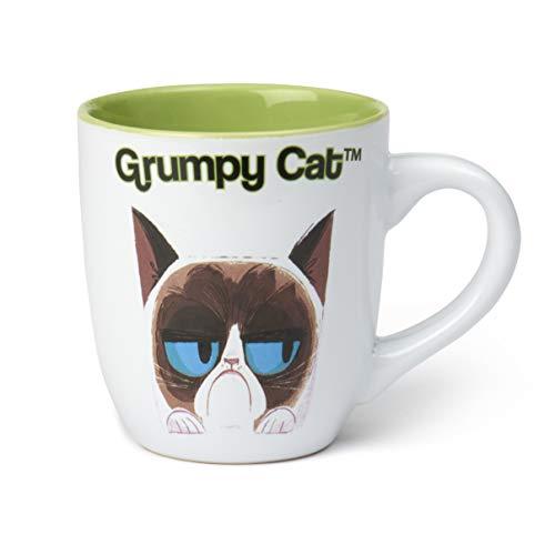 PetRageous Grumpy Cat Designs Grumpy Cat Mug, White 18oz