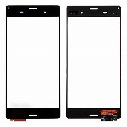 WeDone para Sony Xperia Z3 D6603 D6653 Pantalla Táctil Digitalizador Vidrio(Sin LCD) Reemplazo y Herramientas (Negro)