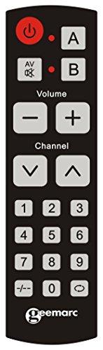 Télécommande Universelle Geemarc EASY TV 10