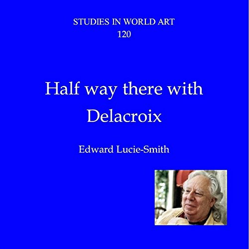 Halfway There with Delacroix audiobook cover art