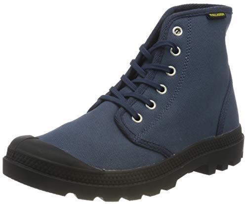 Palladium Men's Combat Boots Ankle, Mood Indigo Black, US:6.5