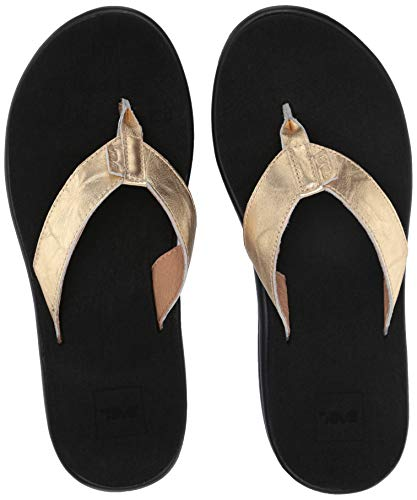 05 Gold Women Sandal - 1