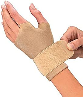 Mueller Compression Gloves, Large, Beige