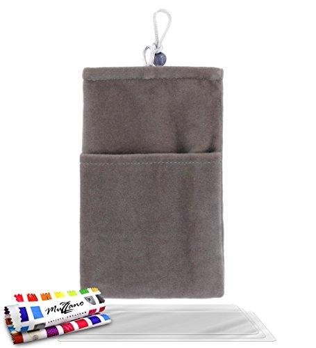 MUZZANO Original Tasche Cocoon BlackBerry Q10 Cocoon grau