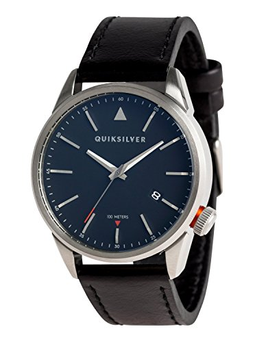 Quiksilver The Timebox 42 Leather - Analogue Watch for Men - Männer