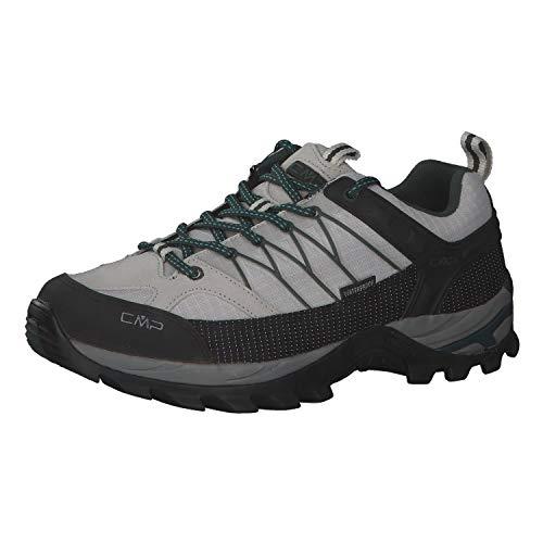 CMP Herren Trekking Schuhe Rigel Low 3Q54457 Glacier-Jungle 42