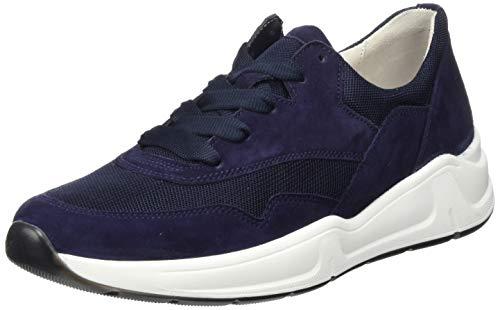Gabor Shoes Damen Comfort Basic Sneaker, Blau (Bluette 36), 38.5 EU