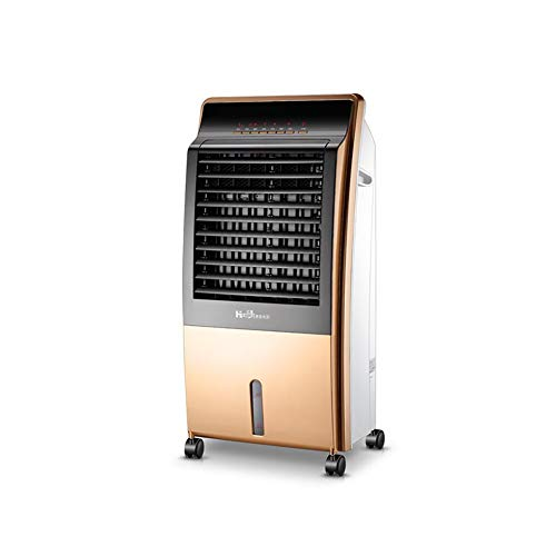 Great Price! CJC Electric Heater Air Cooler 2 in 1 Portable 3 Fan Speeds Oscillation 9 Hour Timer Wa...