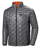 Helly Hansen Lifaloft Insulator Jacket Chaqueta Aislante, Hombre, Gris (Quiet Shade), S